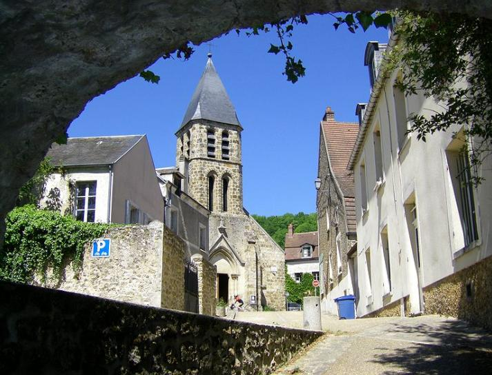 Les plus beaux villages de france for Beaux villages yvelines